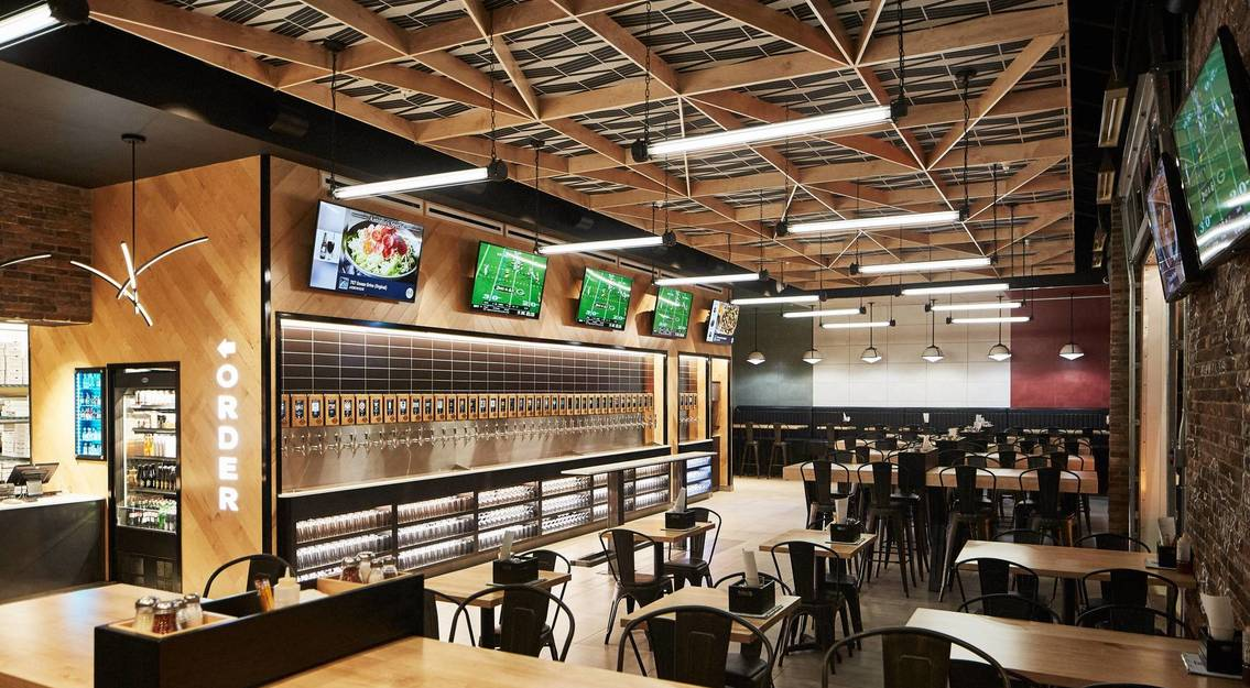 First to Market in Northeast Ohio, Antonio's Brew Wall